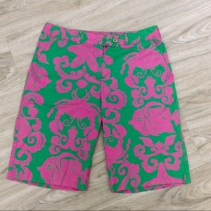Lilly Pulitzer Wheres The Reef Chipper Short Sz 6